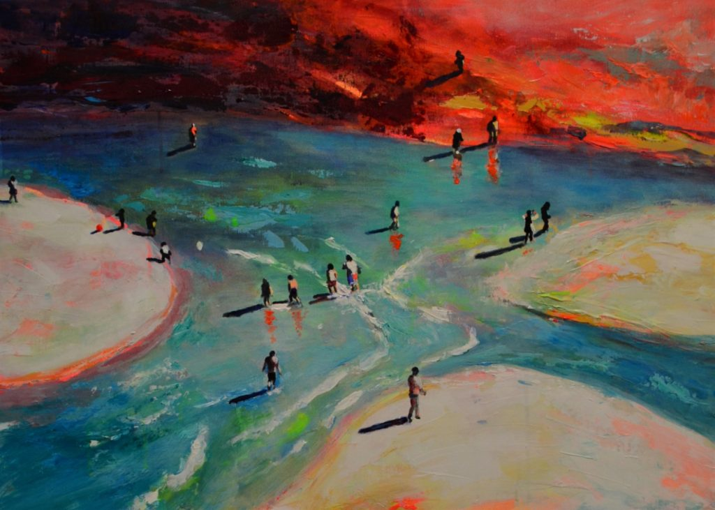 End of summer II_Acryl_LW_50x70cm