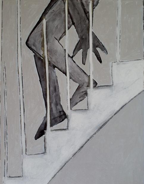 1991-10 Die Treppe