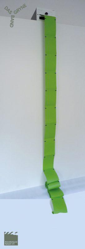 Markus Münzer, Ausdruck (Grün)